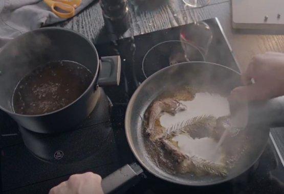 Hard Face – Helten i køkkenet