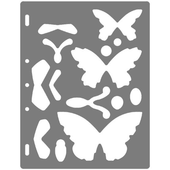 Shape Template™ - Sommerfugl