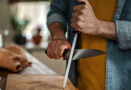 Slibning af knive