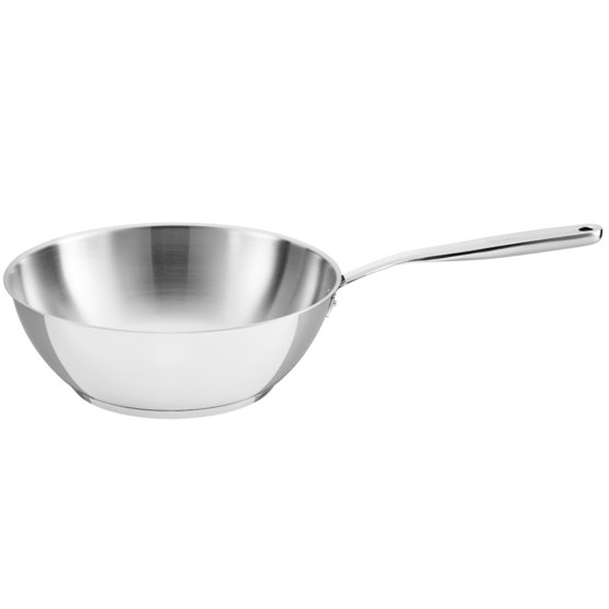 All Steel pure Wok 28 cm