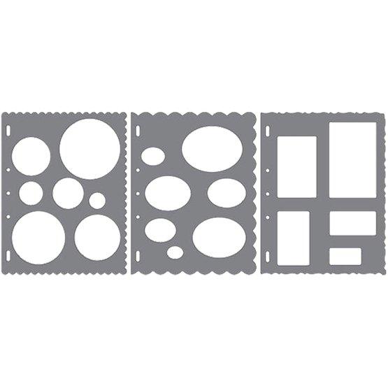 Shape Template™ - Basisformer (x3)