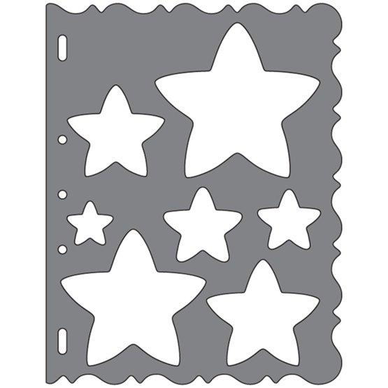 Shape Template™ - Stjerner