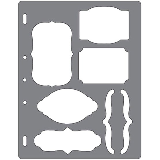 Shape Template™ - Etiketter & parenteser