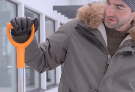 SnowXpert™ Børste og isskraber
