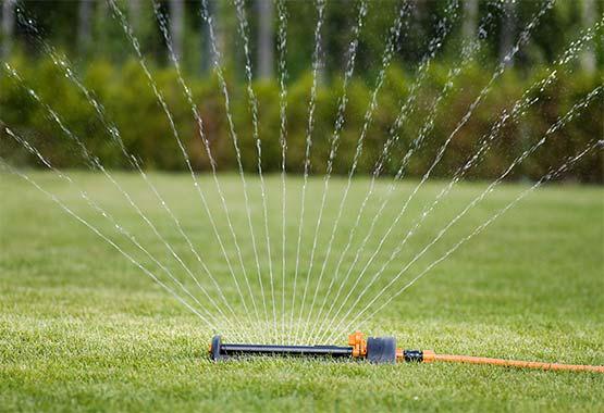 Vandspare sprinkler, metalfod